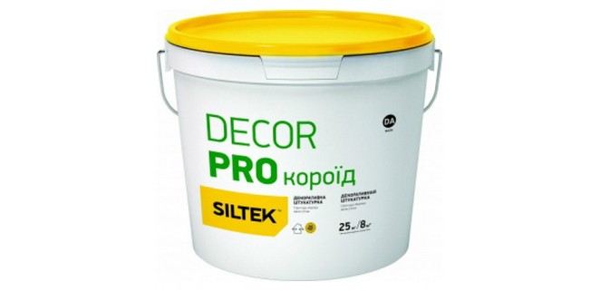 SILTEK DECOR PRO Короед 2 мм бесцветная (база DС)