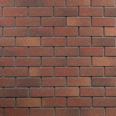 Фасадная битумная плитка HAUBERK ТехноНИКОЛЬ: коллекция Кирпич, цвет Терракотовый (м.кв.)