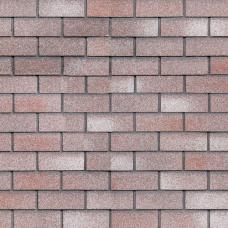 Фасадная битумная плитка HAUBERK ТехноНИКОЛЬ: коллекция Кирпич, цвет Мраморный (м.кв.)