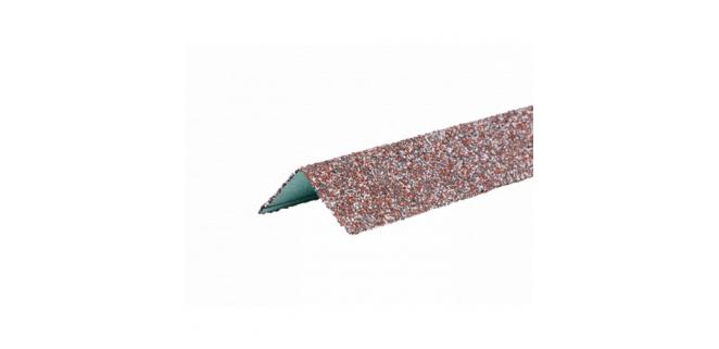 Уголок металлический внешний 50*50*1250 HAUBERK ТехноНИКОЛЬ: обожжённый, терракотовый, песчаный, бежевый, мраморный, античный