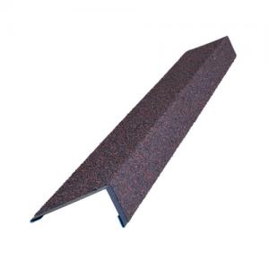 Наличник оконный металлический 50*100*1250 HAUBERK ТехноНИКОЛЬ: обожжённый, терракотовый, песчаный, бежевый, мраморный, античный