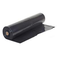 Строительная черная пленка п/э 100 микрон