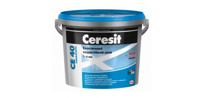 Ceresit CE40 aquastatic Замазка для швов 1–6 мм, 5 кг