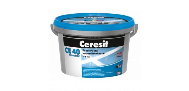 Ceresit CE40 aquastatic Замазка для швов 1–6 мм, 2 кг