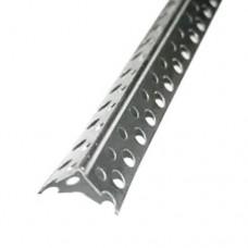 Перфоугол усиленный 25х25х2500 мм, металл 0,3 мм