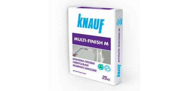 Knauf Шпаклевка Мульти-Финиш М 25 кг