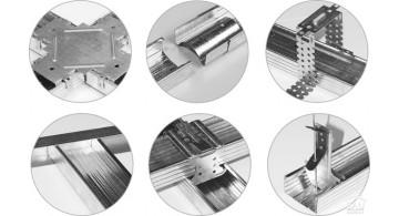 Комплектующие для гипсокартона (П-125, соединители, крабы и др.)