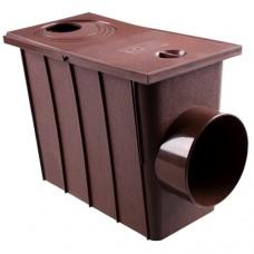 Колодец ливневой с боковым сливом Ø75/Ø100 PROFIL