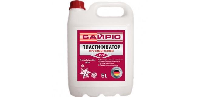 Противоморозный пластификатор БАЙРИС 10 л