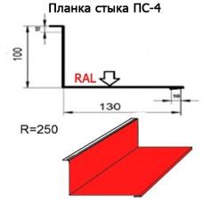 Планка стыка ПС-4 R 250 длина 2м МАТПОЛИЭСТЕР