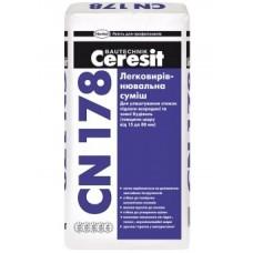 Ceresit CN 178 Легковыравнивающаяся смесь (15-80 мм)