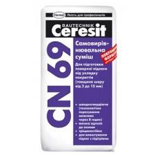 Ceresit CN 69 Самовыравнивающаяся смесь для пола (3-15 мм)