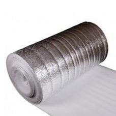 Утеплитель фольгированный толщина 8 мм, ширина 1 м (лавсан) Изолон