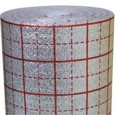 Утеплитель фольгированный «теплый пол» 4 мм (лавсан) Изолон