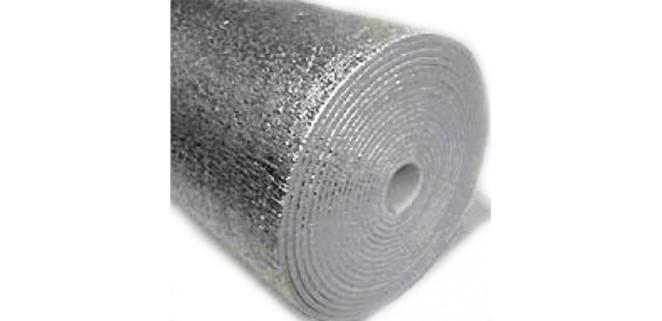 Изолон фольгированный с 2-х сторон 3 мм (ал. фольга)