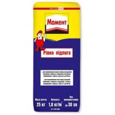 МОМЕНТ Ровный пол - самовыравнивающаяся смесь (3-80 мм)