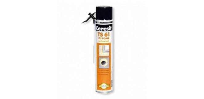 Ceresit Пена монтажная TS 61 STD 750 мл