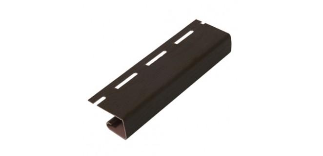 J-профиль коричневый для крепления софитов Rainway