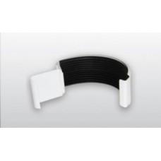 Соединитель желоба ø125 AQUEDUCT металл с полиурет. покрытием