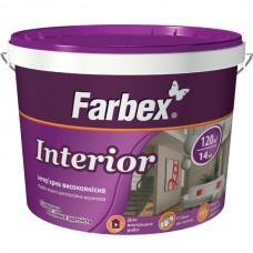 Краска интерьерная Farbex Interior 14 кг