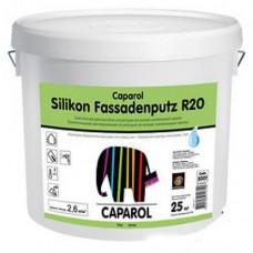 CAPAROL Силиконовая штукатурка Короед 2 мм Fassadenputz R20, 25 кг