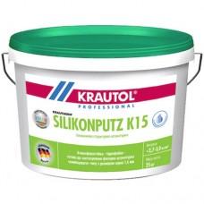 KRAUTOL силиконовая штукатурка Барашек 1,5 мм Silikonputz K15