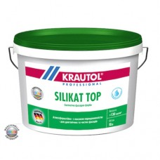 Краска фасадная силикатная KRAUTOL SILIKAT TOP 10л