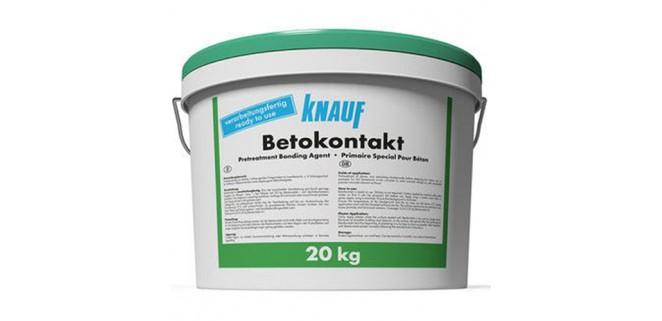 Knauf Бетонконтакт с кварцевым песком 20 кг