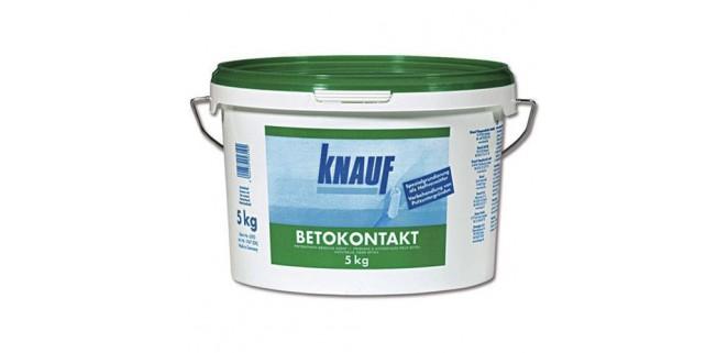 Knauf Бетонконтакт с кварцевым песком 5 кг