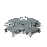 Соединитель крестовой краб усиленный, толщина металла 1 мм