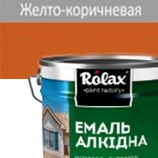 Краска для пола 20 кг ПФ-266 ROLAX  желто-коричневая