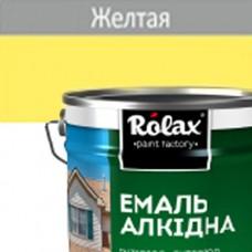 Эмаль ПФ-115  ROLAX 20 кг желтая