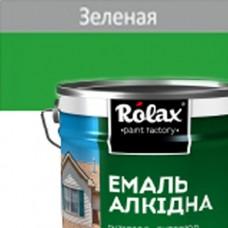 Эмаль ПФ-115  ROLAX 20 кг зеленая