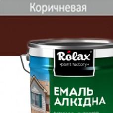 Эмаль ПФ-115  ROLAX 20 кг коричневая