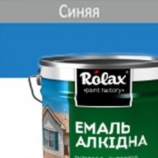 Эмаль ПФ-115  ROLAX 20 кг синяя