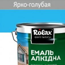 Эмаль ПФ-115  ROLAX 20 кг ярко-голубая