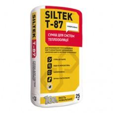 SILTEK Т-87 Смесь для приклеивания и армирования ППС и минваты