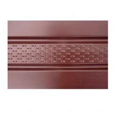 Софит с перфорацией Asko (коричневый, графит, бежевый)