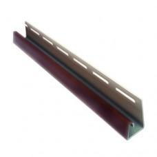 J-профиль для крепления софитов Asko (коричневый, графит, бежевый)