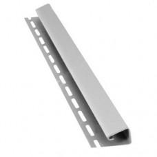 J-профиль для крепления софитов Bryza (белый) 4 м