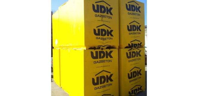 Газоблок UDK 600*200*250 (Кратно паллете)
