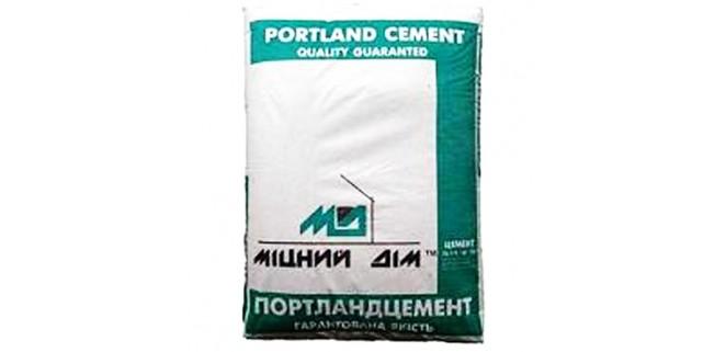 Цемент ПЦ I-500 (50 кг) Міцний дім
