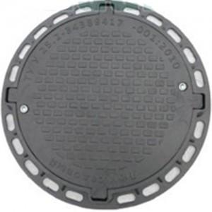Люк пластиковый «Садовый» Тип ЛМ (черный) арт. 35880