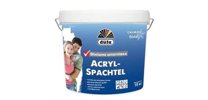 Шпаклевка акриловая DUFA Acryl Spachtel 8 кг