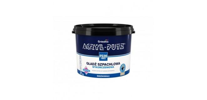 Финишная акриловая шпаклевка ACRYL-PUTZ FS20 8 кг