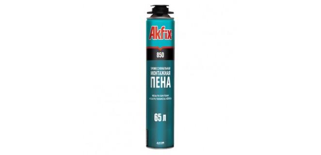 Пена Akfix MEGA 850 мл (65 л) зимняя (профессиональная)