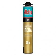 Пена Akfix SUPER MEGA зимняя 850 мл (70 л) (профессиональная)