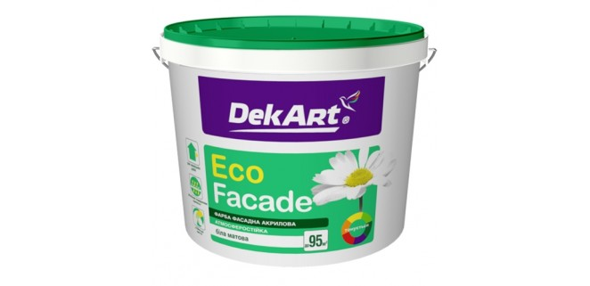 Краска фасадная DekART Eco Faсade 12,6 кг