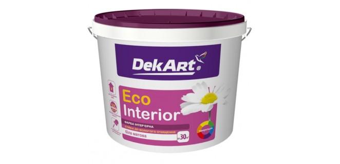 Краска для стен и потолков DekART Eco Interior 12,6 кг