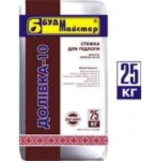 ДОЛІВКА-10 Стяжка для полов цементная М-150